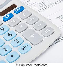 proporción, calculadora, cuenta, -, él, 1, debajo, utilidad