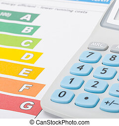 proporción, calculadora, -, gráfico, 1, eficiencia, energía