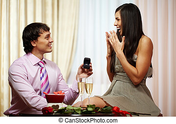 Proposal of engagement