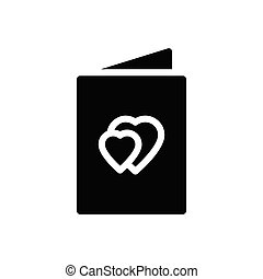 propose  glyph flat icon