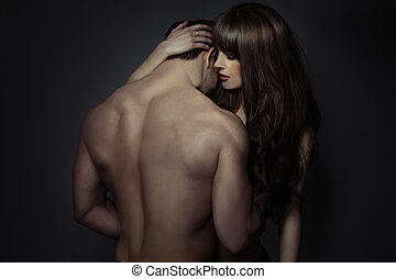 proposta, amantes, romanticos, jovem