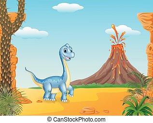 proposta, dinosauro, carino