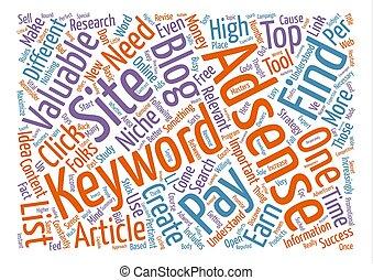 propre, mot, texte, valable, ton, comment, concept, adsense,...