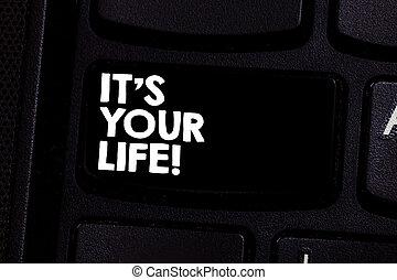 propre, photo, il, clavier ordinateur, message, ton, faire, intention, choses, décision, écriture, comment, vivant, texte, conceptuel, vous, business, projection, main, clã©, idea., s, boîte, life., créer