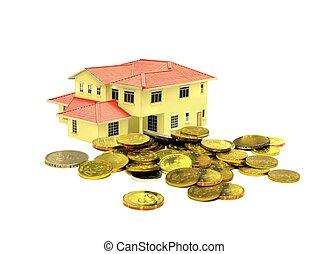 propriété, concept, investissement