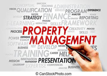 propriété, gestion