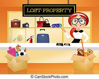 propriété, perdu