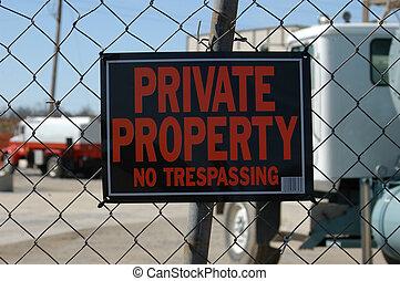 propriété, privé