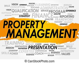 propriedade, gerência