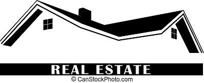 propriedade, logotipo, real
