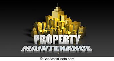propriedade, manutenção