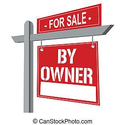 proprietario, segno vendita