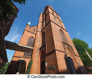 Propsteikirche Herz Jesu church in Luebeck - Propsteikirche...