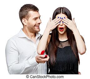 propuesta del matrimonio