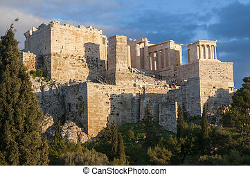 propyla of acropolis
