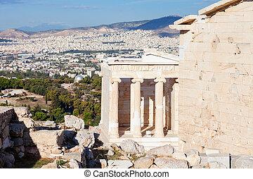 Propylaea in Acropolis, Athens