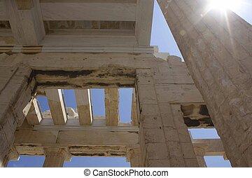 Propylaea ruins