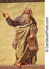 prorok, daniel, mozaika