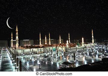 prorok, meczet, nowy księżyc