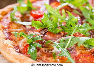 prosciutto, casalingo, pizza