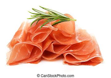 prosciutto, curado, jamón, italiano