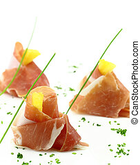 Prosciutto finger food