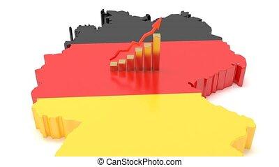 prospérité, germany., economy., allemand, croissance