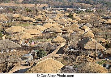 prospect of  Korean old town