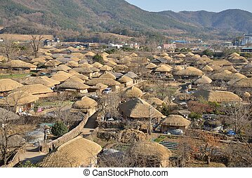 Korean Traditional old town