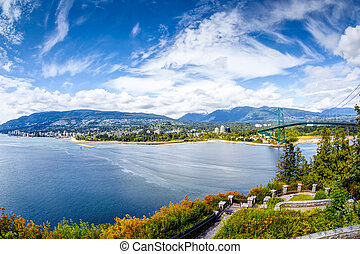 Prospect Point in Stanley Park, Vancouver, Canada