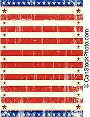 prospectus, américain, étoiles