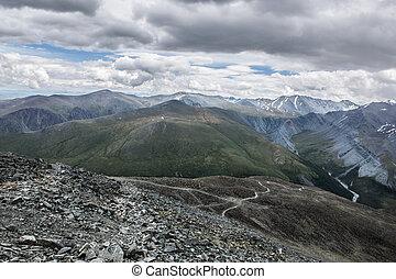 prospekt góry, karaturek, farwater