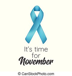 prostate cancer awareness month poster