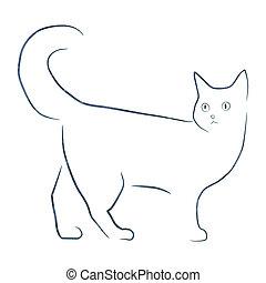 Kot Rysunek