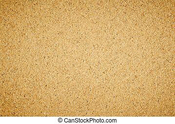 prosty, płaski, piasek, texture.