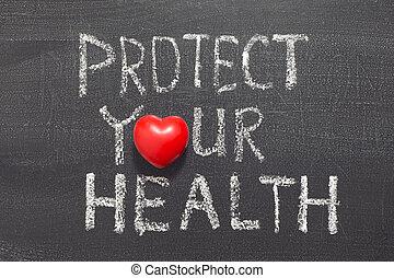 protéger, santé, ton