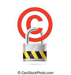 proteção copyright