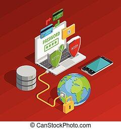 proteção dados, conceito, composição
