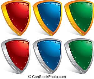proteção, escudos