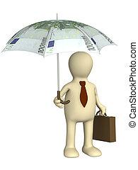 proteção, financeiro