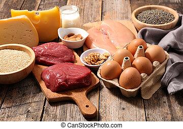 proteïne, bronnen
