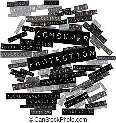 protección, consumidor