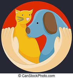 protección, las derechas animales