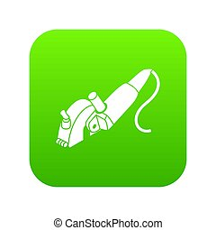 Protect angle grinder icon green