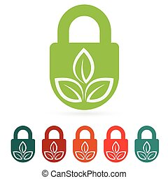 Protect environment web icon