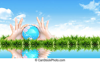 protect the earth concept