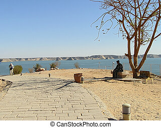 Protected area in Abu Simbel