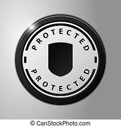 Protected badge