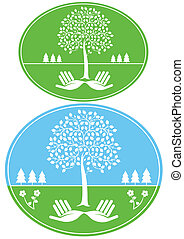 protected environmental sign