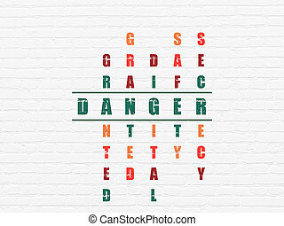 Protection concept: Danger in Crossword Puzzle